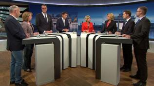 Talkrunde zur Bundestagswahl in Mainz