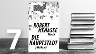Buchcover von Robert Menasse: Die Hauptstadt