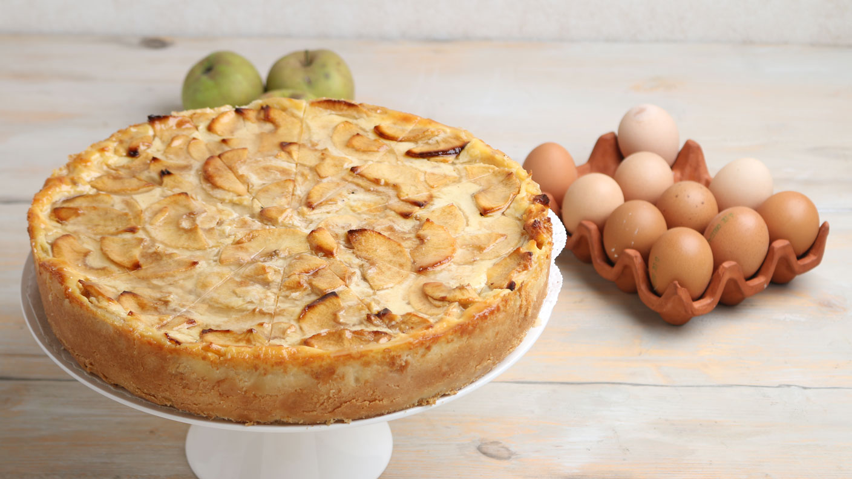 Apfelrahmkuchen Ernährung Kaffee Oder Tee Swrde