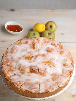 Apfelrahmkuchen