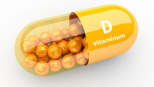 vitamin D Pille gelb