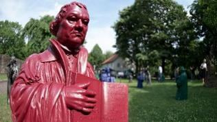 Luther-Figuren in Bad Hersfeld