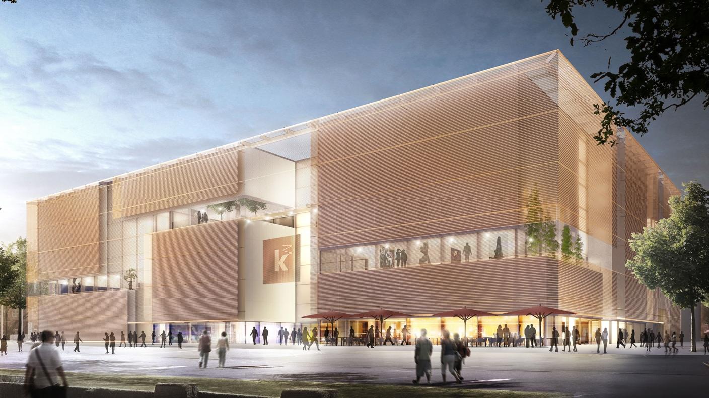 Kunsthalle Mannheim - Neubau wird feierlich eröffnet (Dezember 2017 ...