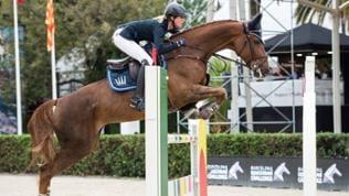 Simone Blum auf ihrem Pferd Alice beim Longines Cup in Barcelona