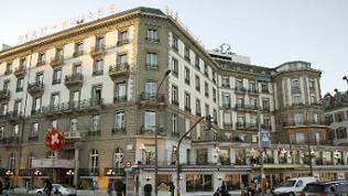 Das Hotel «Beau-Rivage» in Genf