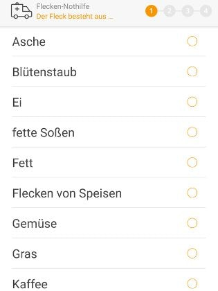 Screenshot Flecken-Notdienst