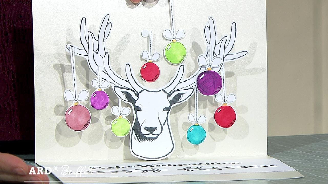 Pop Up Weihnachtskarten Kreativ Ard Buffet Swrde