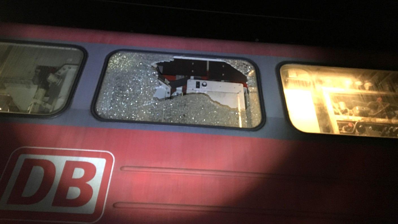 Bahnstrecke Stuttgart – Ulm: Auf Züge geschossen
