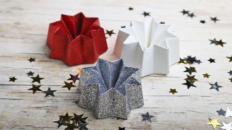 Weihnachtsdeko Papiersterne.Papiersterne Falten Freizeit Kaffee Oder Tee Swr De