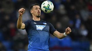 Sandro Wagner von der TSG Hoffenheim
