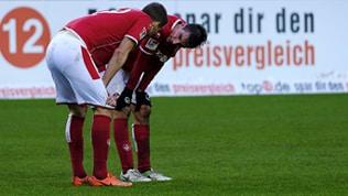 Christoph Moritz und Stipe Vucur vom 1. FC Kaiserslautern