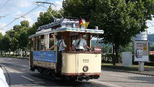 """Straßenbahnwelt Stuttgart """"Triebwagen"""""""