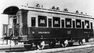 Ein Waggon des Orient-Express