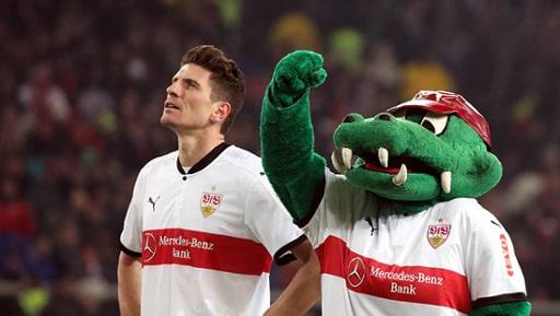 Mario Gomez ist zurück beim VfB Stuttgart