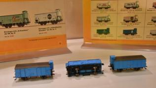 """Für die N-Bahner gibt es von """"Brawa"""" G10 Güterwagen"""