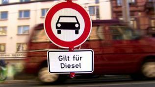 Sujetbild Diesel-Fahrverbote in Städten