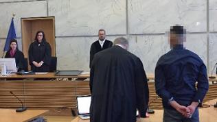 Der 23-jährige Maserati-Fahrer steht vor dem Mannheimer Amtsgericht