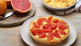 Grapefruit-Tarte