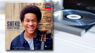 "CD-Cover Sheku Kanneh-Masons Debütalbum ""Inspiration"""
