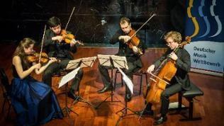 Preisträger Eliot Quartett Deutscher Musikwettbewerb 2018