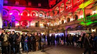 Das Landesmuseum Württemberg bei der Langen Nacht der Museen 2017.