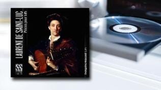 CD-Cover Laurent de Saint-Luc: Lautenwerke Evangelina Mascardi