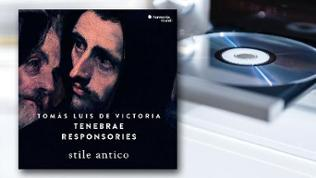CD Cover Tomás Luis de Victoria: Tenebrae Responsories Stile antico
