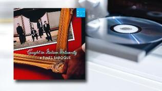CD-Cover: 4 Times Baroque - Caught in Italian Virtuosity