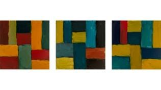 Sean Scully -  Arles-Nacht-Vincent, 2015