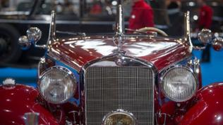 Mercedes-Benz 320 Roadster auf Oldtimer-Messe in Stuttgart
