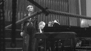 Christine Schäfer (Sopran, l.) und Irwin Gage (Klavier)