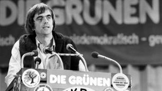 Hans-Christian Ströbele ca. 1985