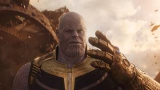 """""""Thanos"""" in """"Avengers: Infinity War""""."""