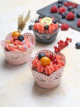 Schoko-Zitronen-Cupcakes