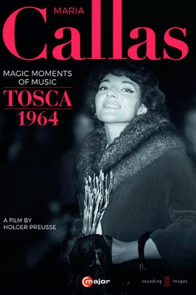 DVD-Cover: Maria Callas - Magic Moments of Music / Tosca 1964