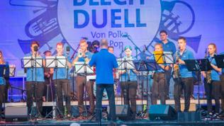 Real Sound Band beim Blechduell 2018 in Nagold
