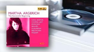 CD-Cover: Martha Argerich - The Successful Beginning