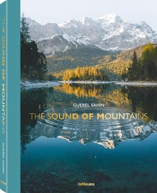 "Buchcover ""The Sound of Mountains"" von Guerel Sahin"