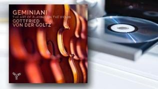 CD-Cover: Francesco Geminiani - The Art of Playing on the Violin