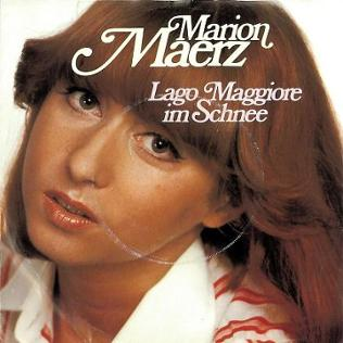 Plattencover Marion Maerz