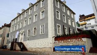 Alte Hofbibliothek in Donaueschingen