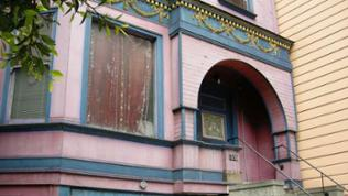Viktorianische Stadtvilla im Haight-Ashbury