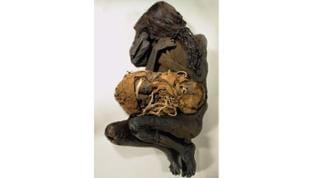 """""""Mumiengruppe/Südamerika"""". Ausstellung: """"MUMIEN - Geheimnisse des Lebens"""",  Reis-Engelhorn-Museen MA, September 2018"""
