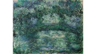 Claude Monet, Die japanische Brücke, 1918–1924, © Beyeler Museum AG, Riehen