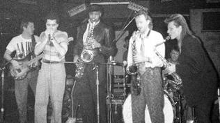 Supertramp 1986 bei einem Konzert im Quasimodo Berlin