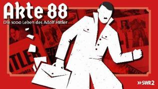 """Illustration zur Serie """"Akte 88"""", Verschwörungstheorien über Hitler nach 1945"""