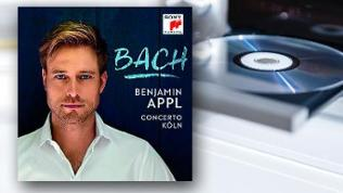 CD-Cover: Benjamin Appl - Bach
