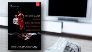 DVD-Cover: Antonio Gades - Sapnish Dance from the Teatro Real
