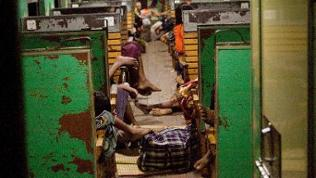 Zugfahrt von Myitkyina nach Mandalay