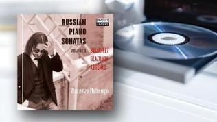 CD-Cover: Vincenzo Maltempo - Russian Piano Sonatas Vol.1